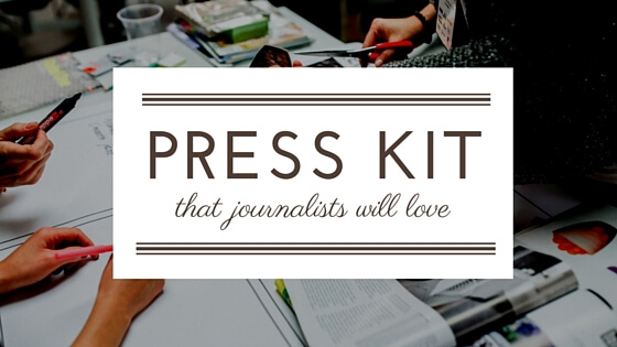 How to create an app press kit that journalists will love for Press kit design