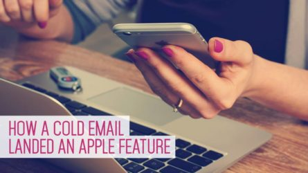 How a Cold Email to Apple Led to an App Store Feature